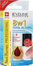 Perfumería y cosmética Eveline Cosmetics Nail Therapy - Set reparador de uñas (acondicionador reparador 8en1/5ml + aceite de argán/5ml)