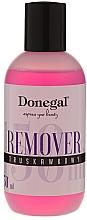 Perfumería y cosmética Quitaesmalte de uñas de gel con aroma a fresa - Donegal Remover