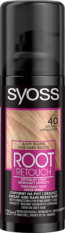 Spray temporal cubre raíces - Syoss Root Retoucher Spray — imagen N1