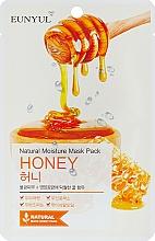 Perfumería y cosmética Mascarilla facial natural de tejido con extracto de miel - Eunyul Natural Moisture Mask Pack Honey