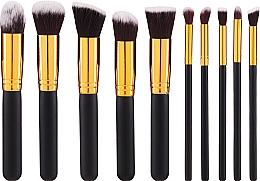 Perfumería y cosmética Set brochas y pinceles de maquillaje, 10uds. - Fascination