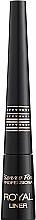 Perfumería y cosmética Delineador de ojos líquido, resistente al agua - Pierre Rene Royal Liner