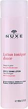 Perfumería y cosmética Loción tonificante para rostro y ojos con pétalos de rosas - Nuxe Gentle Toning Lotion With Rose Petals