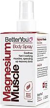 Perfumería y cosmética Spray corporal muscular con aceite de magnesio - BetterYou Magnesium Muscle Body Spray