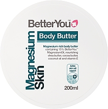 Perfumería y cosmética Manteca corporal enriquecida con magnesio, karité y coco - BetterYou Magnesium Body Butter