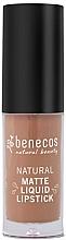 Perfumería y cosmética Labial líquido - Benecos Natural Matte Liquid Lipstick