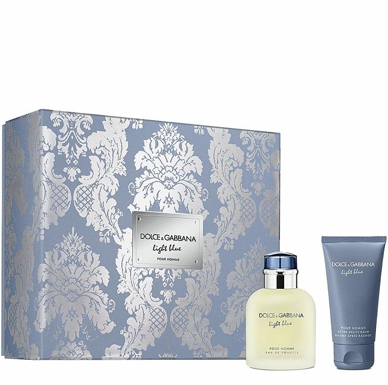 Dolce&Gabbana Light Blue Pour Homme - Set (eau de toilette/75ml + bálsamo aftershave/50ml)