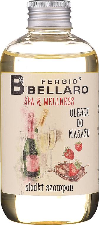Aceite de masaje corporal con aroma a champán - Fergio Bellaro Massage Oil Sweet Champagne