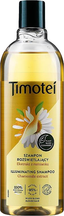 Champú con extracto natural de camomila & miel - Timotei Golden Highlights Shampoo