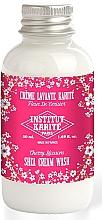 Perfumería y cosmética Crema de ducha con karité, aroma a flor de cerezo - Institut Karite Fleur de Cerisier Shea Cream Wash Cherry Blossom (mini)