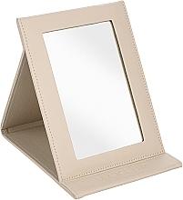Perfumería y cosmética Espejo cosmético libreta, beige - MakeUp Tabletop Cosmetic Mirror Beige