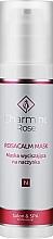 Perfumería y cosmética Mascarilla facial calmante con niacinamidas y extracto de castaña para pieles cuperosas - Charmine Rose Rosacalm Mask