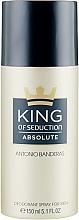 Perfumería y cosmética Antonio Banderas King of Seduction Absolute - Desodorante spray