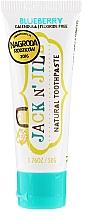 Perfumería y cosmética Pasta dental infantil orgánica con sabor a arándano - Jack N' Jill Natural Toothpaste Blueberry