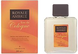 Perfumería y cosmética Legrain Royale Ambree - Agua de colonia