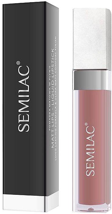 Líquido labial mate - Semilac Liquid Matte Lipstick