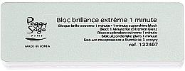 Perfumería y cosmética Bloque para brillo extremo de uñas - Peggy Sage 1-Minute Nail Block