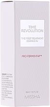 Perfumería y cosmética Esencia antienvejecimiento con 90% de levadura fermentada - Missha Time Revolution The First Treatment Essence RX (mini)