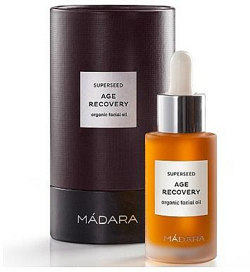 Elixir facial antiedad orgánico con aceite de serbal, arándano y proretinol - Madara Cosmetics Superseed Age Recovery Gesichtso