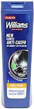 Perfumería y cosmética Champú anticaspa con carbón activado y extracto de menta - Williams Triple Action Anti-Dandruff Shampoo