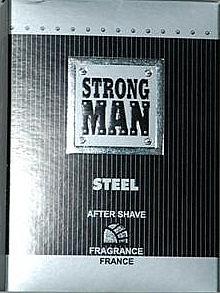 Loción aftershave - Strong Men After Shave Steel