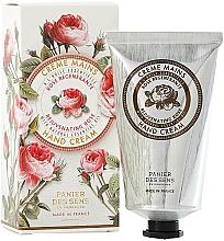 Perfumería y cosmética Crema nutritiva de manos y uñas con aceite de rosa y manteca de karité - Panier Des Sens Rose Hand Cream