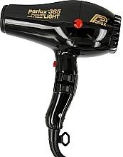 Perfumería y cosmética Secador de pelo - Parlux Hair Dryer 385 Powerlight Ionic & Ceramic Black