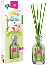 Perfumería y cosmética Ambientador Mikado con aroma a jardín sin alcohol - Cristalinas Reed Diffuser