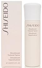 Desodorante spray - Shiseido Deodorant Natural Spray  — imagen N2