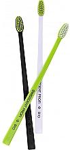 Perfumería y cosmética Cepillos dentales blanco, negro y verde - Swissdent Bio Tandborste Triple Pack (3 uds.)