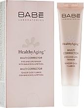 Perfumería y cosmética Corrector de ojos y labios con retinol - Babe Laboratorios Healthy Aging Multi Corrector