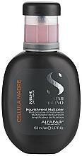 Perfumería y cosmética Concentrado para cuero cabelludo con ácido leontopodico - Alfaparf Semi Di Lino Cellula Madre Nourishment Multiplier