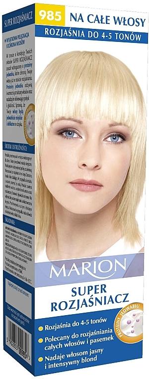 Decolorante hasta 5 tonos con proteína de seda №985 - Marion Super Brightener