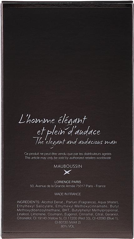 Mauboussin Homme - Eau de parfum — imagen N3