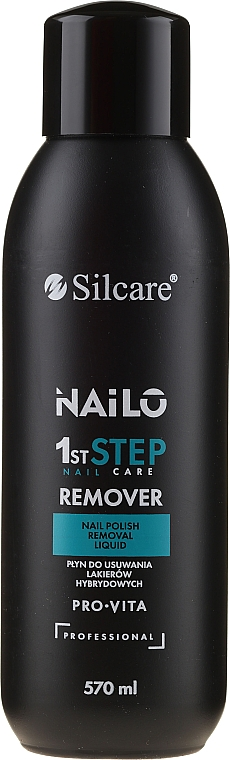 Quitaesmalte de uñas con retinol sin acetona - Silcare Nailo Pro-Vita