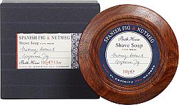 Perfumería y cosmética Bath House Spanish Fig and Nutmeg - Jabón de afeitar con higo español y nuez moscada