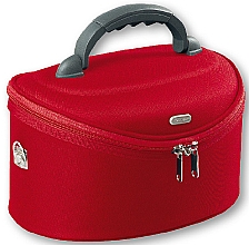 Neceser cosmético ovalado, rojo, 95085 (32,5x22x19cm) - Top Choice Oval Red — imagen N1
