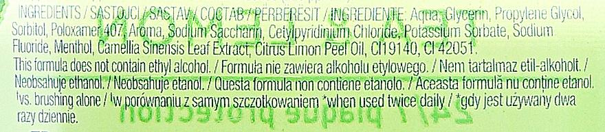 """Enjuague bucal """"té y limón"""" - Colgate Plax Tea&Lemon — imagen N3"""