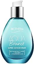 Perfumería y cosmética Concentrado facial hidratante con ácido hialurónico y glicerina - Biotherm Aqua Bounce Super Concentrate Plump