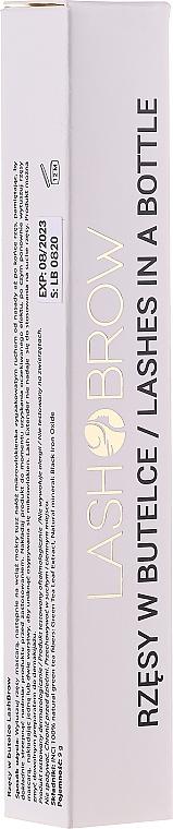 Prolongador de pestañas con fibras naturales para volumen y longitud - Lash Brow Lash Extender Lashes in a Bottle