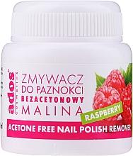 Perfumería y cosmética Quitaesmalte con esponja y aroma a frambuesa, sin acetona - Ados Acetone Free Nail Polish Remover