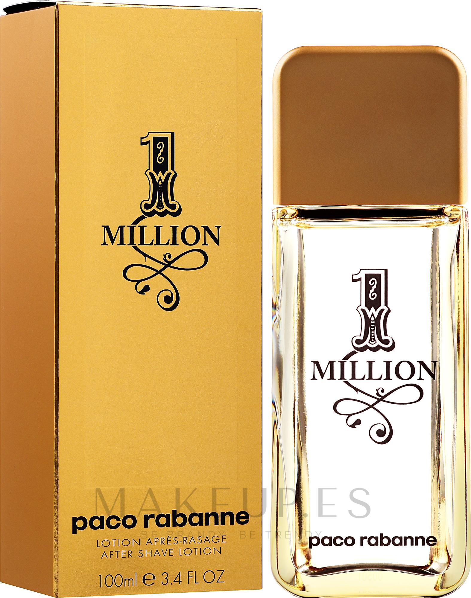 Paco Rabanne 1 Million - Loción aftershave — imagen 100 ml