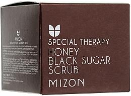 Perfumería y cosmética Exfoliante facial de azúcar natural morena y miel - Mizon Honey Black Sugar Scrub