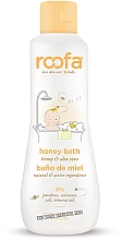 Perfumería y cosmética Gel de baño para bebés con extracto de miel, pieles sensibles - Roofa Honey Bath Gel