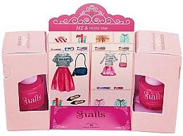 Perfumería y cosmética Set esmalte de uñas, Madres e Hijas, no tóxico - Snails Me & Mini Me (esmalte de uñas lavable/7ml + esmalte de uñas despegable/9ml)