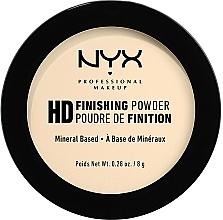 Perfumería y cosmética Polvo corrector mineral translúcido con efecto mate - NYX Professional Makeup High Definition Finishing Powder