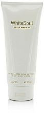 Perfumería y cosmética Ted Lapidus White Soul - Crema corporal perfumada