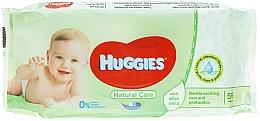 Perfumería y cosmética Toallitas húmedas para bebés, sin perfume - Huggies Natural Care