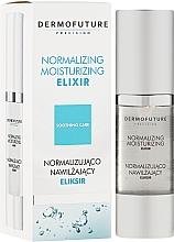 Perfumería y cosmética Elixir facial antiedad con ácido hialurónico y extracto de centella asiática - DermoFuture Normalizing Moisturizing Elixir