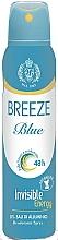 Perfumería y cosmética Desodorante spray  sin sales de aluminio, aroma a nerolí y mango - Breeze Blue Deo Spray 48h
